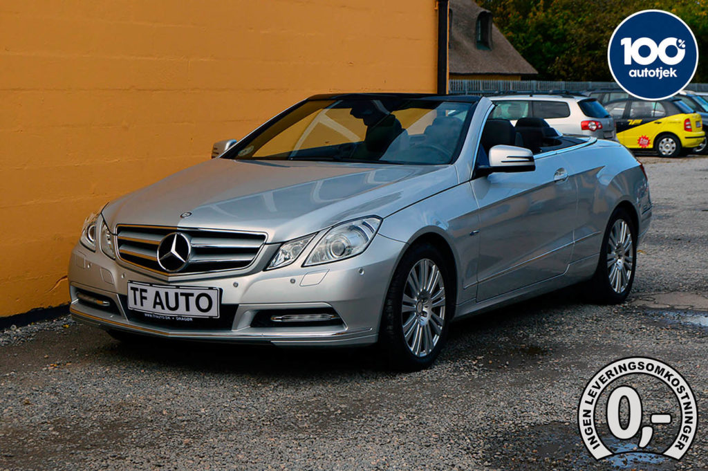 Mercedes E200 Cabriolet