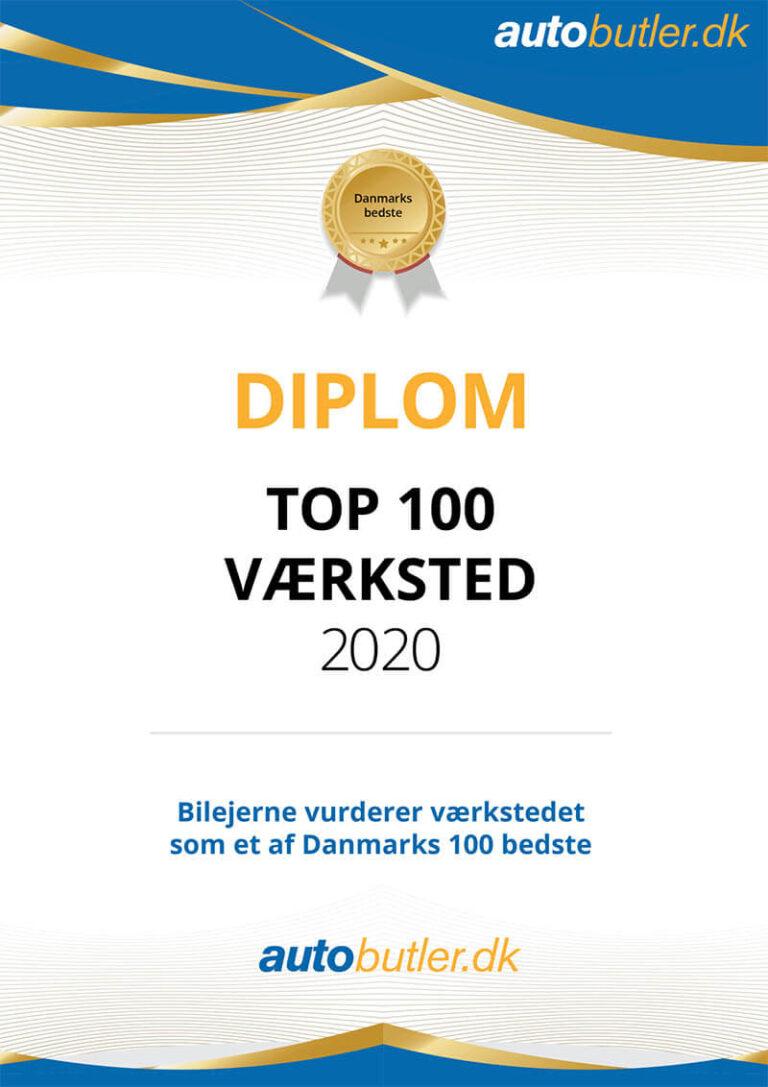 Top 100 værksted 2020