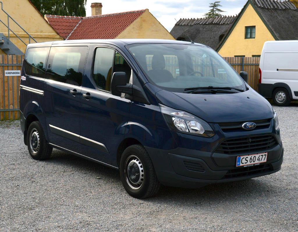 Biludlejning | Dragør | Kastrup | Amager | Ford Transit Custom Bus 9 personer